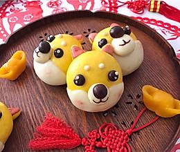 #年味十足的中式面点#柴犬豆沙包的做法