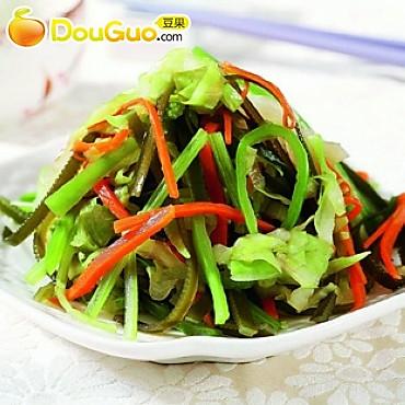 多味蔬菜丝的做法