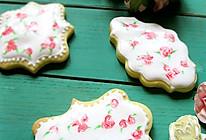 玫瑰糖霜饼干# 松下烘焙魔法世界#的做法