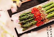 养颜不囤肉凉拌菜|白灼芦笋的做法