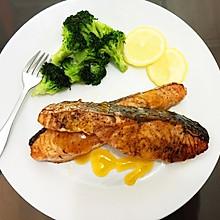 橙香三文鱼