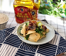 #多力金牌大厨带回家-北京站#年味美食-家乡香肠炒饵块的做法