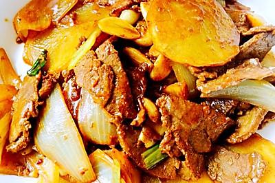 黄油羊肉土豆