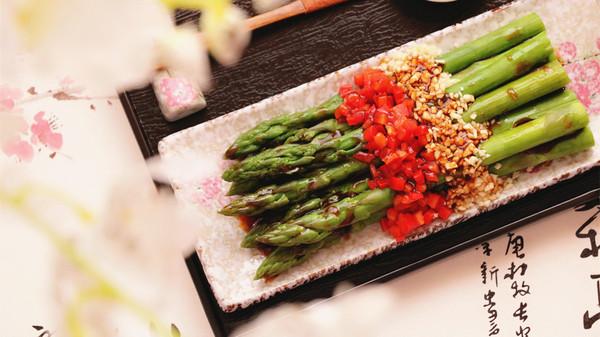 养颜不囤肉凉拌菜|白灼芦笋