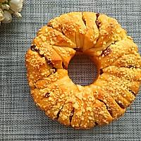 蔓越莓酥粒手撕面包的做法图解16