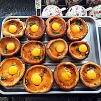 超美味香菇烤蛋的做法图解3