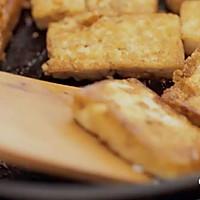 健康便当14(香煎豆腐+鸡胸肉生菜沙拉)的做法图解3