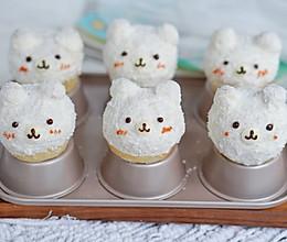 超萌小面包:雪绒小熊的做法