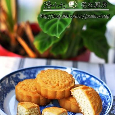 椰蓉月饼 —— 酥香好吃不腻的月饼