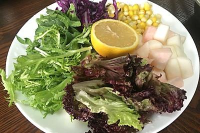 多彩蔬菜沙拉#丘比沙拉汁#