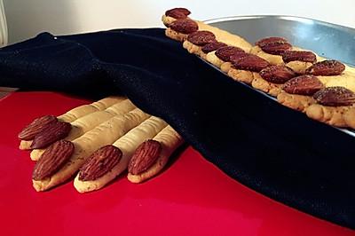 万圣节来临--女巫的手指饼干,你敢吃吗?