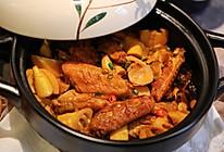 竹笋香菇焖鸡翅的做法