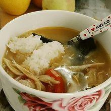 酸汤鸡丝(可泡饭,二桥私房菜)