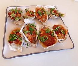 蒜蓉粉丝烤生蚝的做法