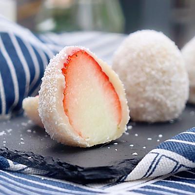 """草莓大福:冬日的第一颗草莓,吃了""""莓""""?!"""