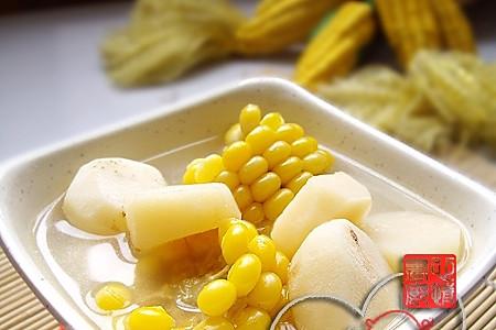 玉米荸荠汤的做法