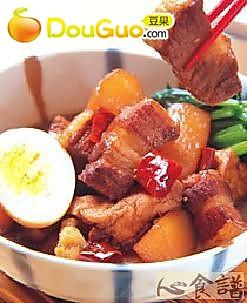 萝卜炖五花肉块的做法