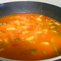 番茄土豆牛肉的做法图解4