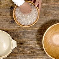 莴笋菜饭 莴笋炒荤素 美食台的做法图解1