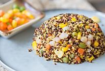 藜麦杂蔬炒饭的做法