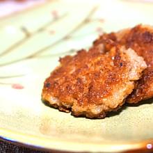 【香煎藕饼】外酥里嫩,口口留香