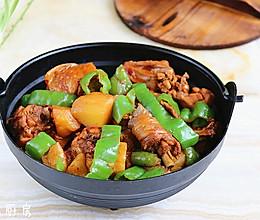 香辣土豆炖鸡的做法
