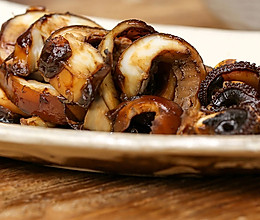 墨鱼大㸆 美食台的做法