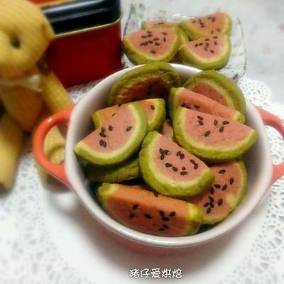 西瓜饼干---夏末记忆