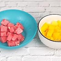 水果红糖冰粉的做法图解2