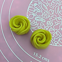 南瓜玫瑰花馒头的做法图解10