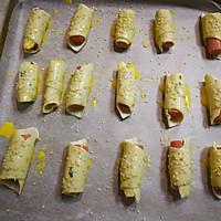 飞饼香肠卷的做法图解9