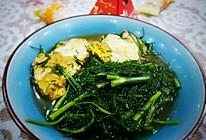 茴香鸡蛋汤的做法
