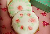 盎然手绘糖霜小饼「如沐春风」的做法