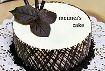 ——超简单慕斯蛋糕【巧克力围边】#九阳烘焙剧场#的做法