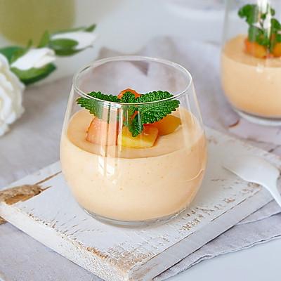 木瓜慕斯杯