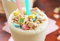 棉花糖谷物麦片奶昔的做法