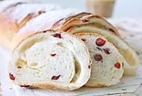 蔓越莓乳酪软欧包的做法