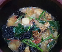 孕期砂煲菜汤的做法