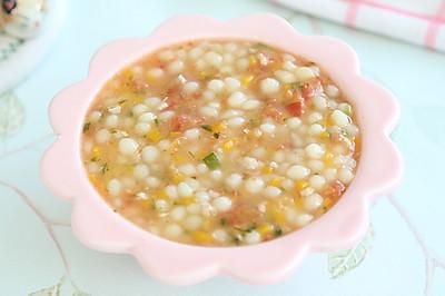 第一次做这样的珍珠面,简单又好吃,你做过吗?