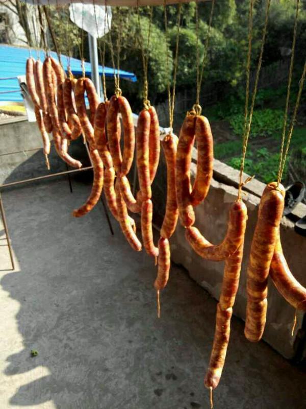 四川麻辣香肠的做法
