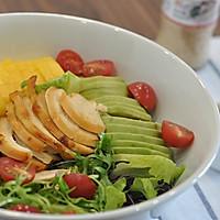 牛油果鸡胸肉沙拉的做法图解5