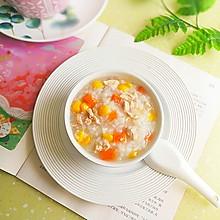胡萝卜玉米瘦肉粥