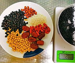 超简单的营养米糊(破壁机)的做法