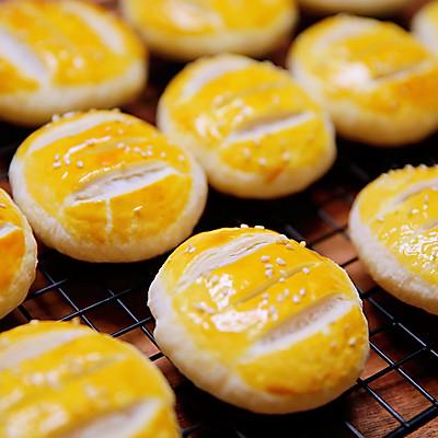 外酥内糯老婆饼原来制作可以这么简单