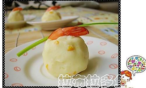 鲜虾土豆泥的做法