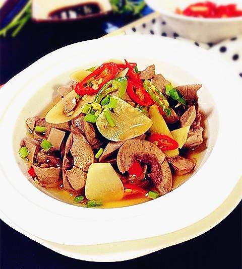 温拌腰花和凉拌脆腰花-夏日私房菜的做法