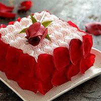 【番茄配方】玫瑰情人节蛋糕的做法图解11