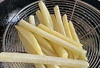 家里有土豆就能做的炸薯条 #人人能开小吃店#的做法