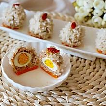 珍珠鹌鹑蛋肉丸子#给老爸做道菜#