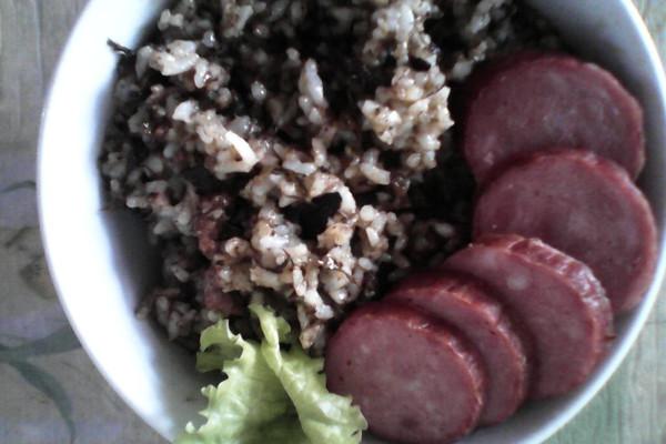 懒人必会——橄榄肉末炒饭的做法